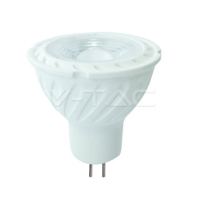LED Spotlight SAMSUNG Chip GU5.3 6.5W MR16 Ripple Plastic Lens Cover 110° 3000K